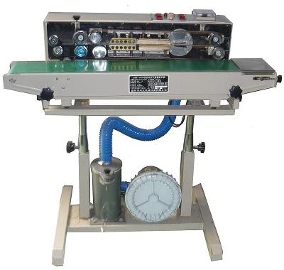 Máy hàn miệng túi thổi khí liên tục DBF-1000  Nhà sản xuất : China